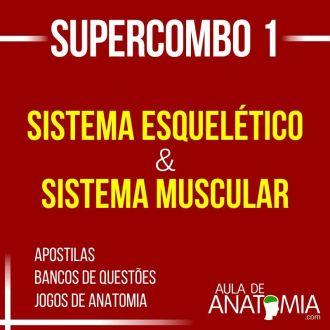 Supercombo 1 - Sistema Esquelético & Sistema Muscular