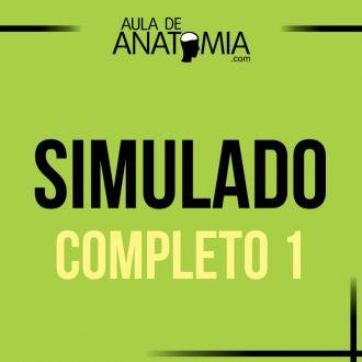Simulado Completo 1 - Questões Objetivas