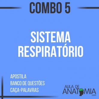 Combo 5 - Sistema Respiratório